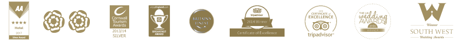 The Alverton Truro 4 star accreditation