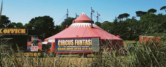 circus-funtasia-truro-things-to-do-in-cornwall-september-the-alverton-hotel