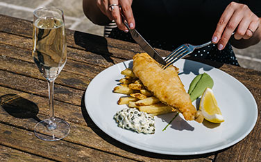 Fizz and Chips for National Prosecco Day