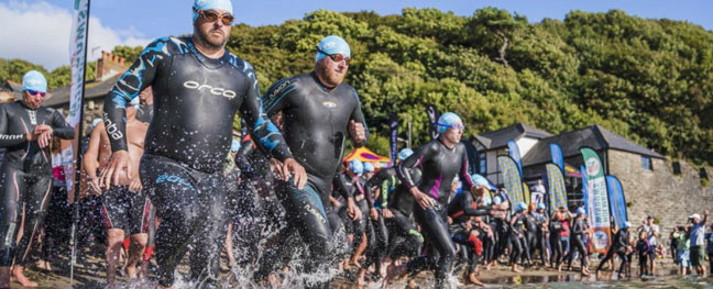 harbour-to-harbour-5km-sea-swim-polkerris-beach-the-alverton-hotel-things-to-do-in-cornwall-september