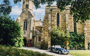 Hire a Classic Morgan Sports Car for the day
