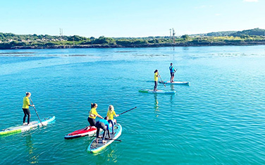 Surf and Paddle Board on the Cornish Coast
