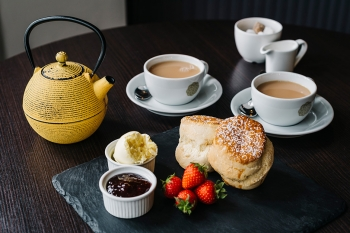 Indulge in our cream teas